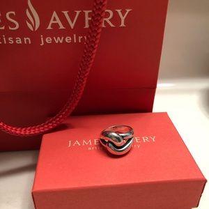 James Avery Cadena Knot ring - RETIRED